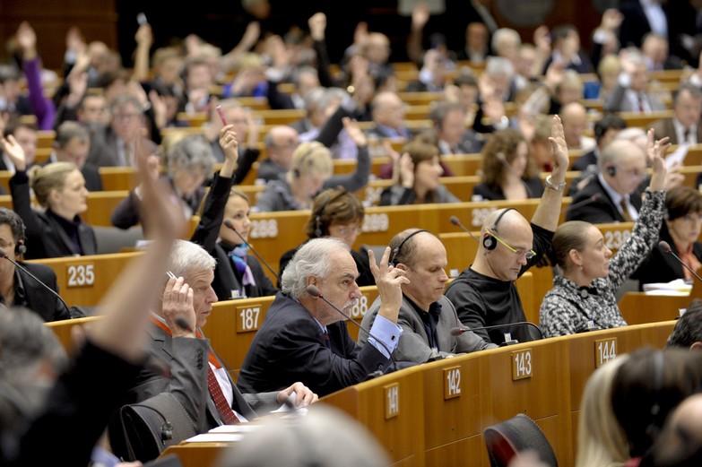 Session plénière au Parlement de Bruxelles, 2011