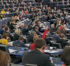 Séance au Parlement européen