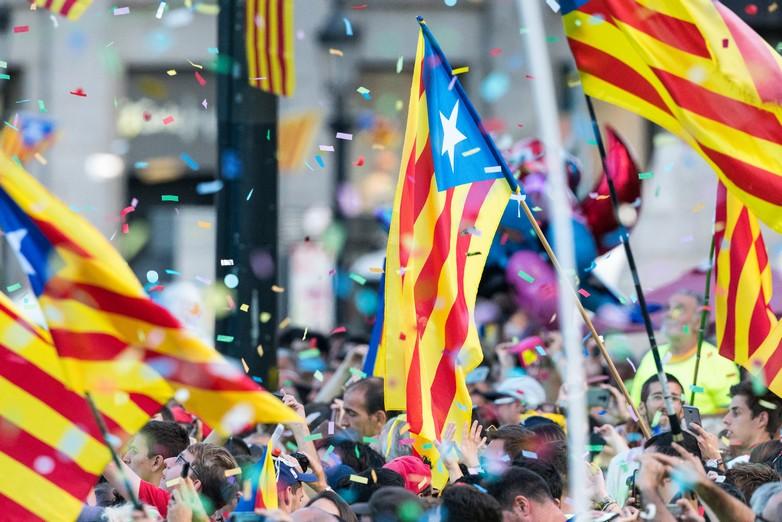 Diada Place de Catalogne