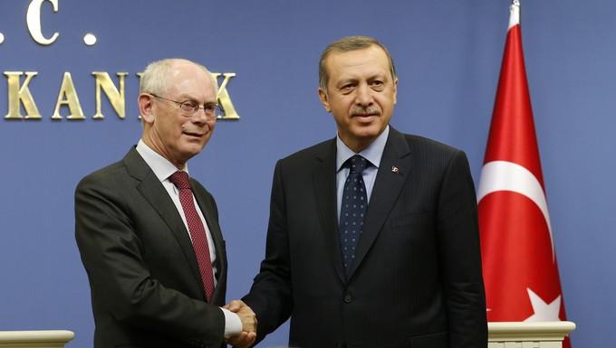 Erdogan et Van Rompuy