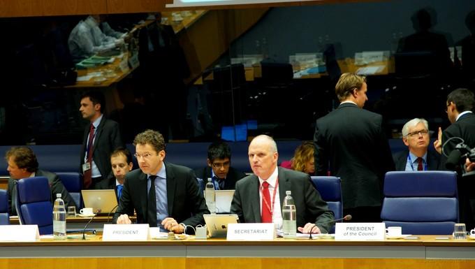 Eurogroupe 14 octobre (c) Conseil de l'UE