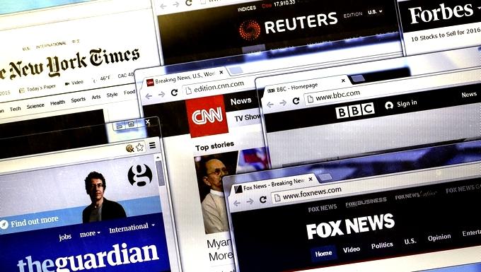 Les Européens et la presse