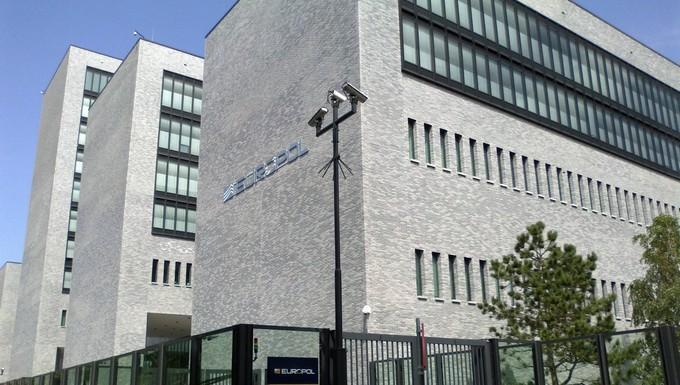 Le siège d'Europol, l'office de police criminelle européen, à La Haye aux Pays-Bas