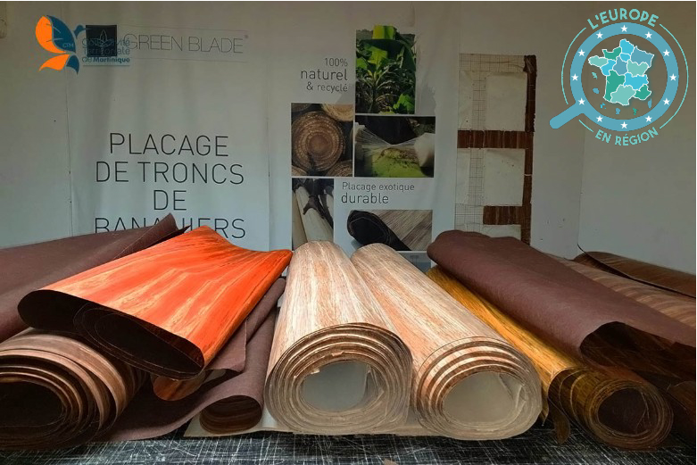 L'entreprise Fibandco utilise le tronc des bananiers pour remplacer l'utilisation du bois dans le design d'intérieur