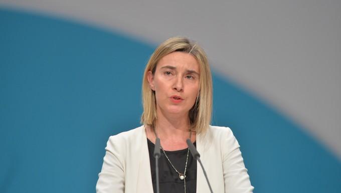Federica Mogherini, Haute Représentante de l'Union pour les affaires étrangères et la politique de sécurité