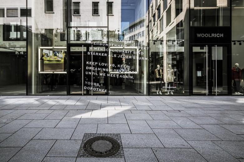 A Francfort-sur-le-Main, en Allemagne, les commerces ont réouvert lundi 20 avril - Crédits : photoheuristic.info / Flickr CC BY 2.0