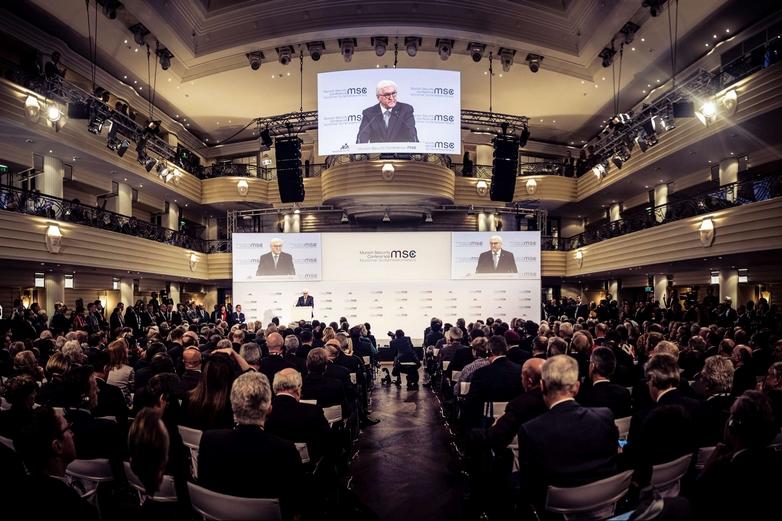 Le président allemand, Frank-Walter Steinmeier, a tenu le discours d'ouverture de la Conférence de Munich sur la sécurité, vendredi 14 février - Crédits : Stiftung Münchner Sicherheitskonferenz / CC BY 3.0 DE