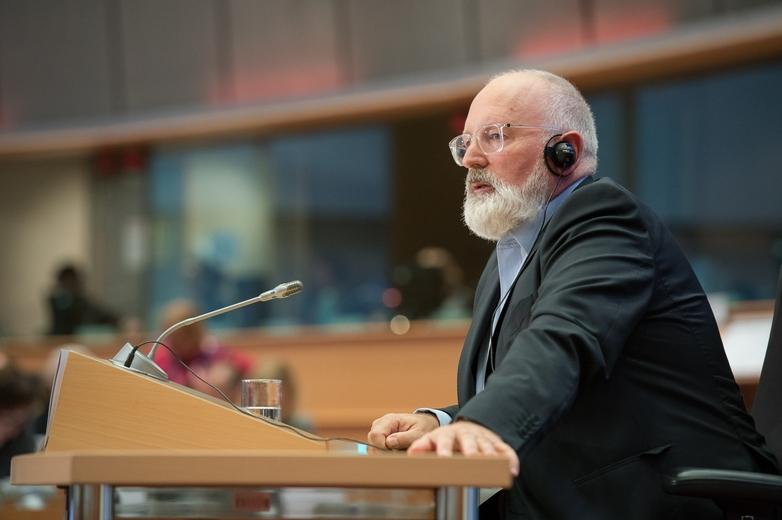 Frans Timmermans, vice-président exécutif de la Commission en charge du climat, aura pour mission de mettre en œuvre le Pacte vert - Crédits : Gabor Kovacs / Flickr European Parliament CC BY 2.0