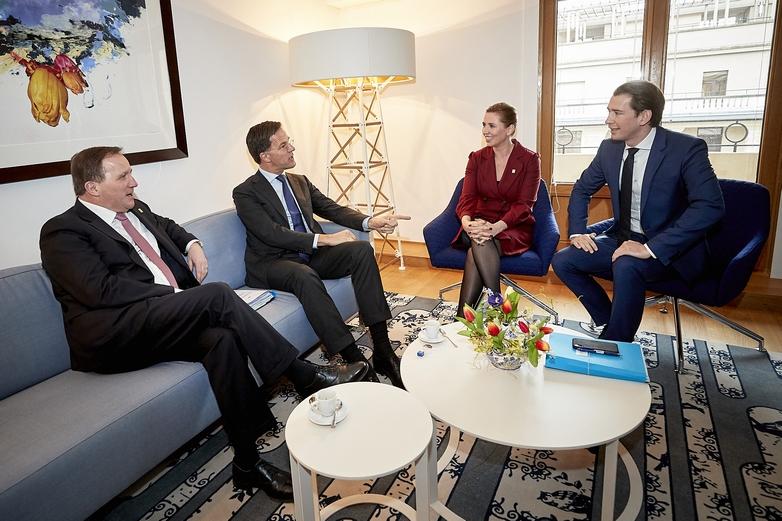 Les dirigeants des quatre pays dits