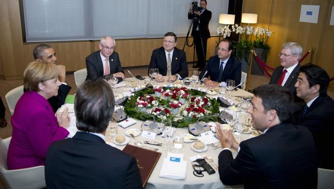G7 Bruxelles 4 juin 2014