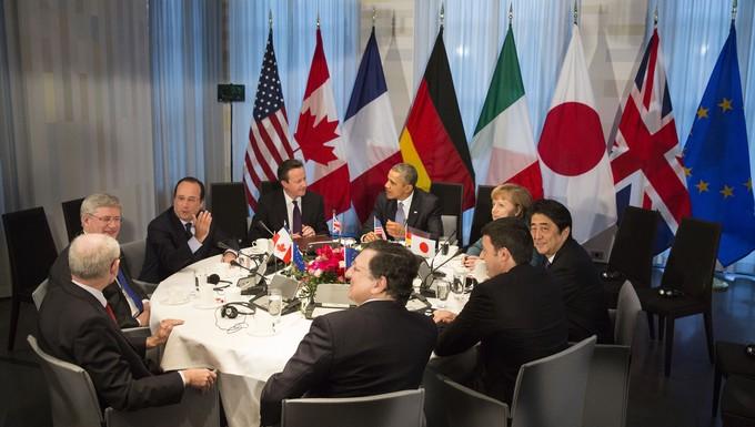 G7 La Haye Obama Ukraine Russie