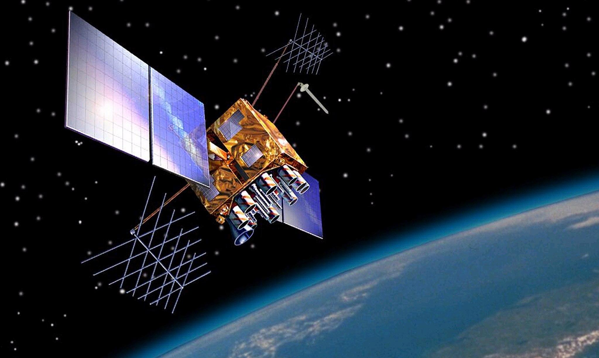 Satellite en orbite