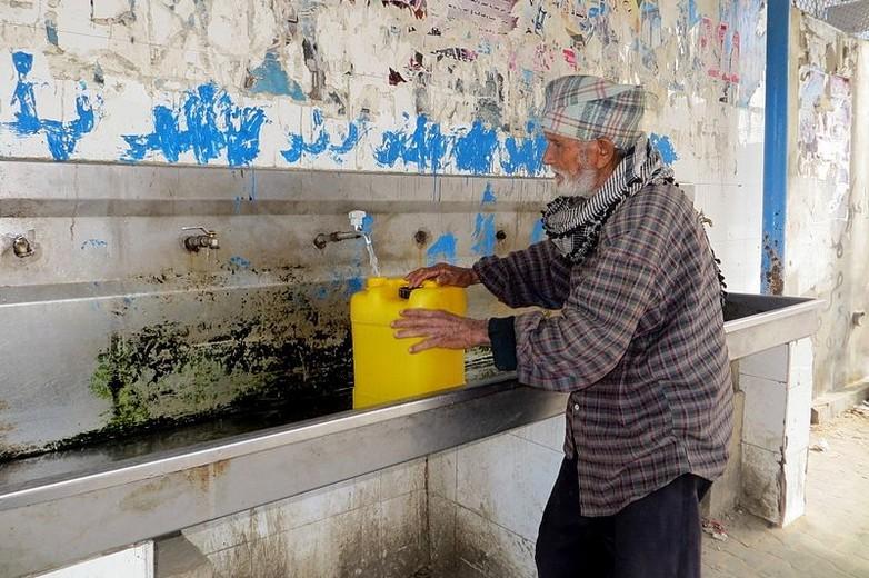 Difficultés d'accès à l'eau dans la bande de Gaza