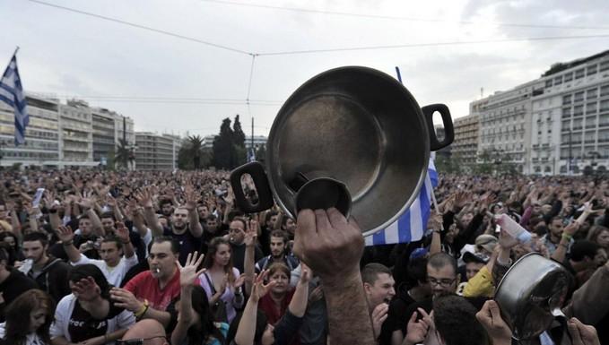 Grève en Grèce (a) Parlement européen