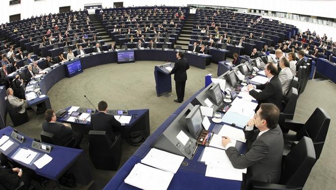 Hémicycle du Parlement européen à Strasbourg (c) Parlement européen
