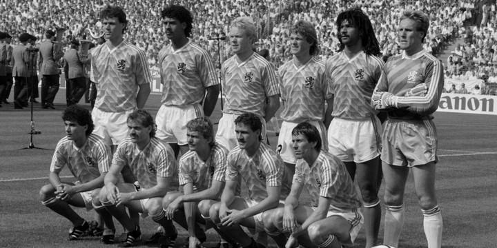 Equipe des Pays-Bas en 1988