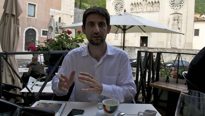Marco Zullo, candidat Mouvement 5 étoiles à Gemona del Friuli (Italie)