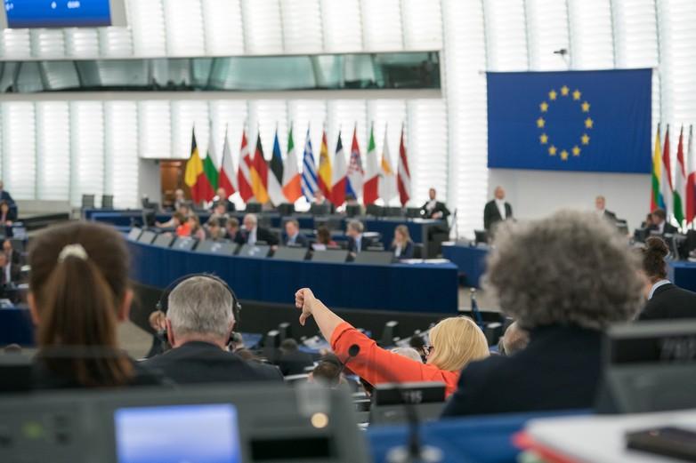 Session de vote au Parlement européen