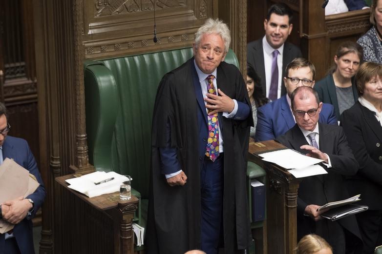 John Bercow, président de la Chambre des communes à Westminster - Crédits : Jessica Taylor / Flickr UK Parliament CC BY-NC 2.0