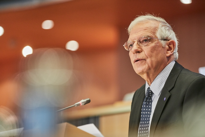 Josep Borrell a pris ses fonctions de Haut représentant de l'UE pour les affaires étrangères et la politique de sécurité en décembre 2019, au sein de la Commission européenne dirigée par Ursula von der Leyen - Crédits : Dati Bendo / Commission européenne