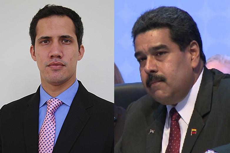 Juan Guaido / Nicolas Maduro