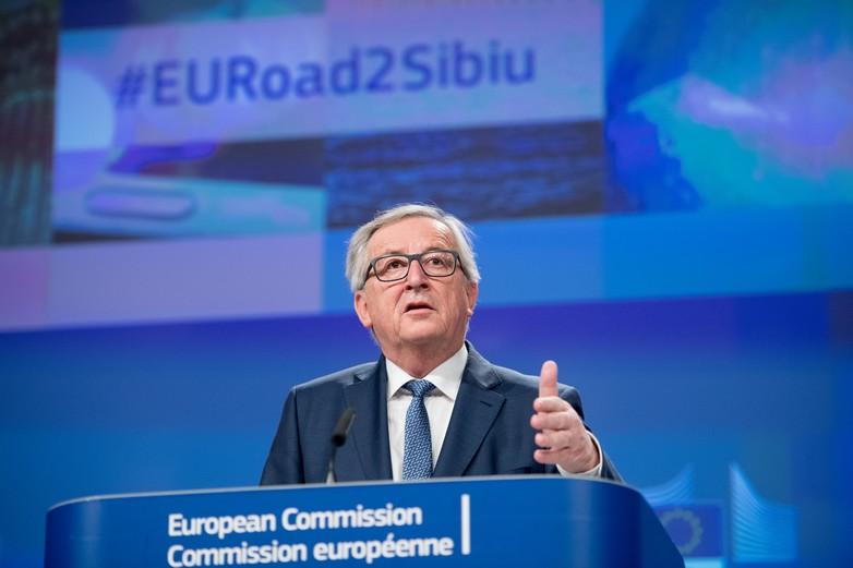 Jean-Claude Juncker le 14 février