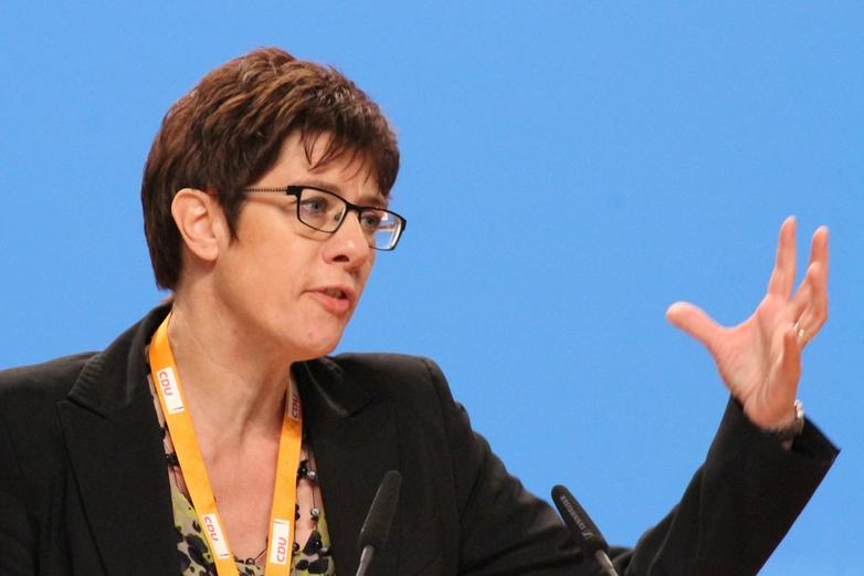 Annegret Kramp-Karrenbauer a répondu à Emmanuel Macron - Crédits : Olaf Kosinsky / Wikipedia