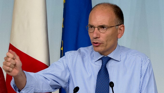 Enrico Letta (c) Palazzochigi