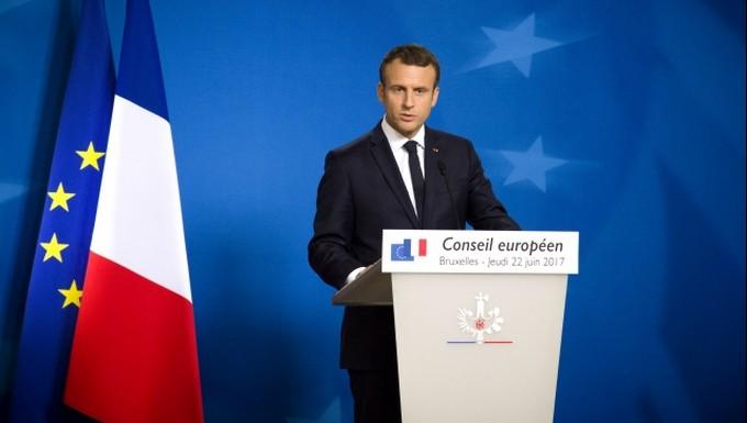 Macron Conseil européen 22 juin 2017
