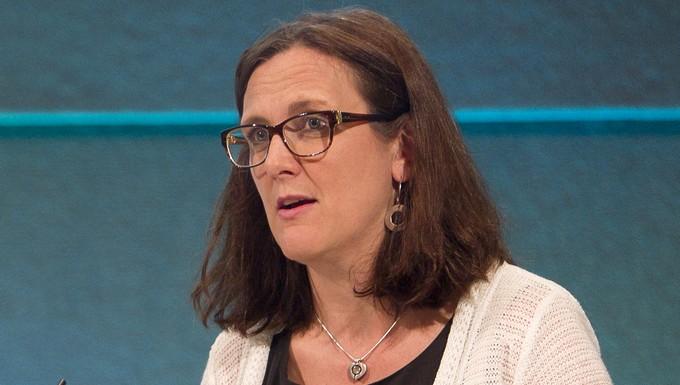 Cécilia Malmström (c) Commission européenne