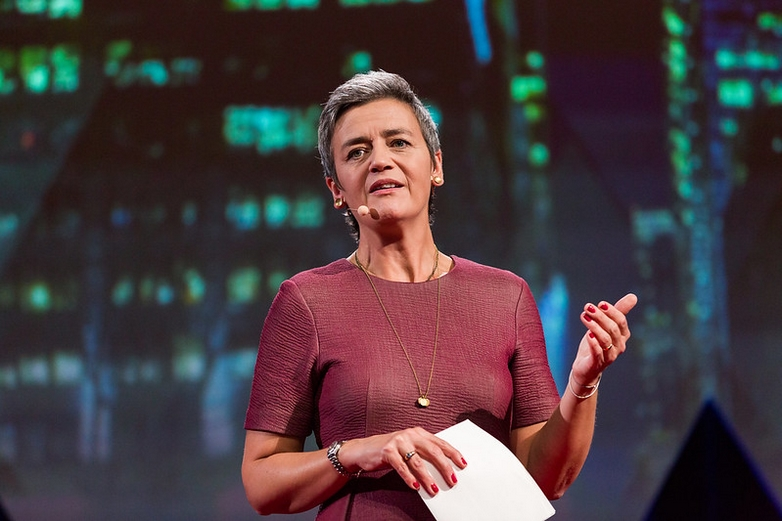 Margrethe Vestager - Crédits : Ryan Lash / Flickr TED Conference CC BY-NC-ND 2.0