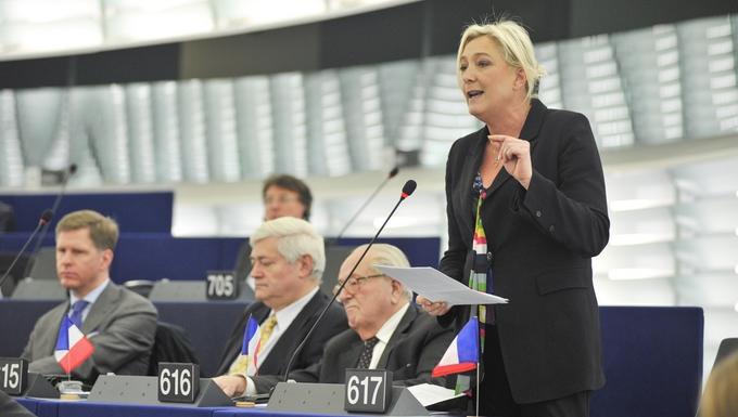 Marine Le Pen (c) Parlement européen