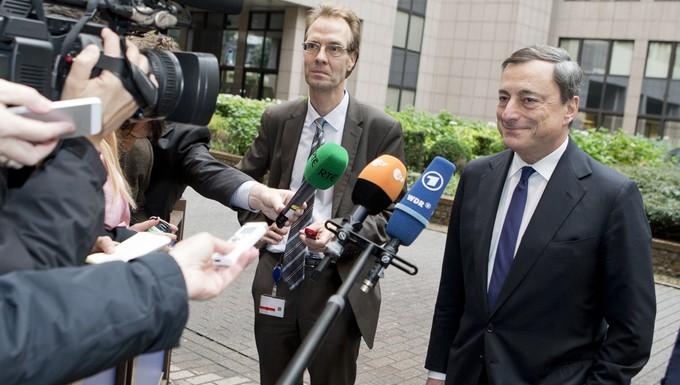 Mario Draghi novembre 2013