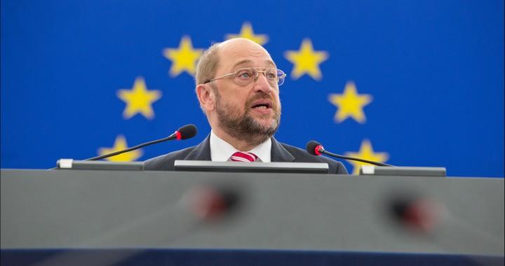 Martin Schulz, président du Parlement européen, en juillet 2014