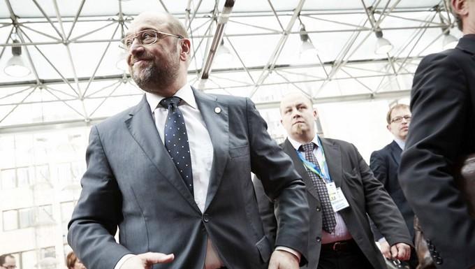 Martin Schulz candidat à la présidence de la Commission européenne