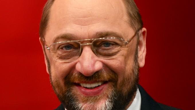 Martin Schulz, candidat des socialistes et démocrates européens pour la présidence de la Commission européenne