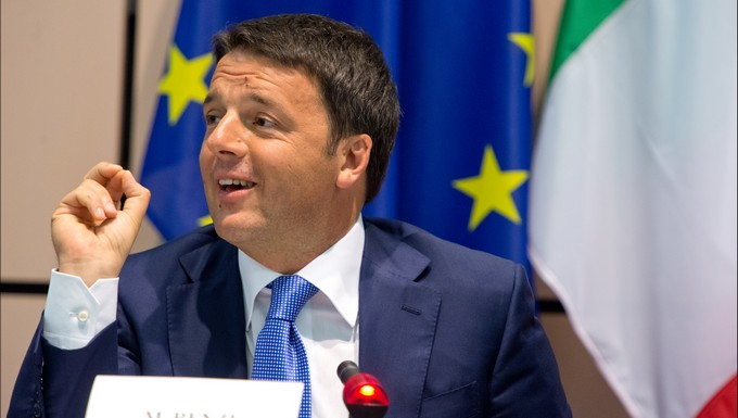 Matteo Renzi, en 2014