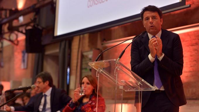 Matteo Renzi, à Venise, en octobre 2015