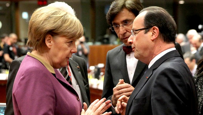Merkel et Hollande