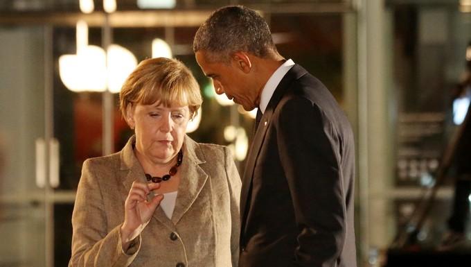 Angela Merkel et Barack Obama