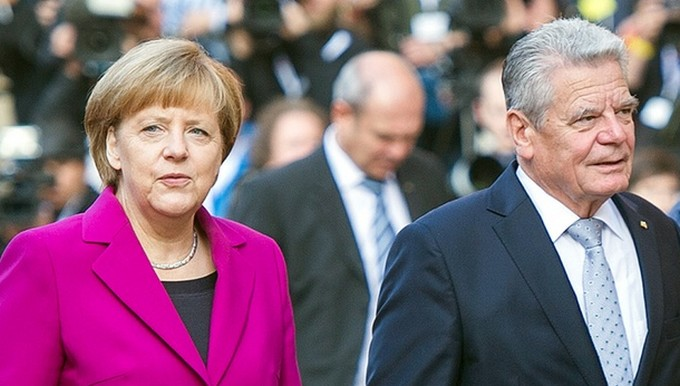 Merkel Gauck