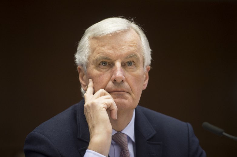 Michel Barnier, en 2017
