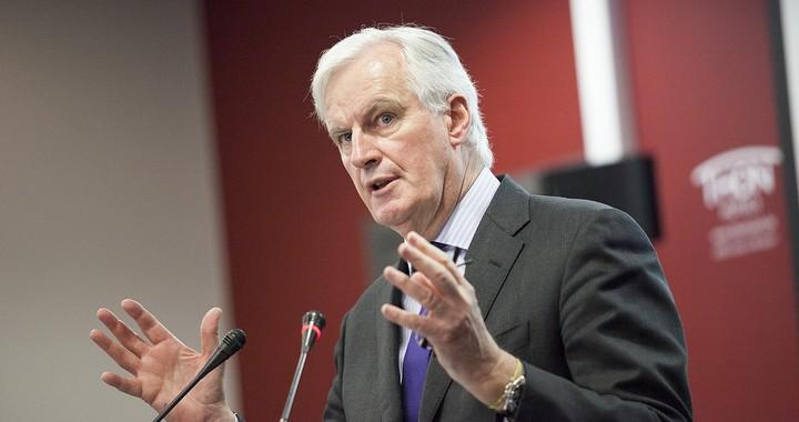 Michel Barnier, en mars 2014