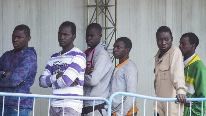 Migrants africains en Sicile