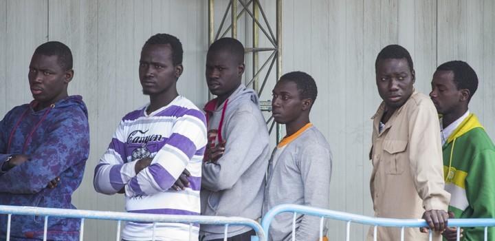 Migrants en Sicile