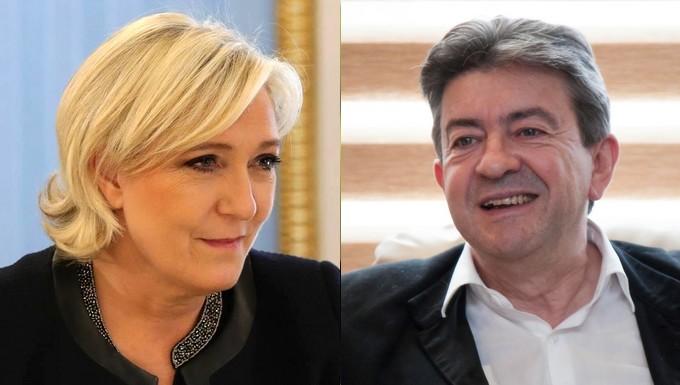 Marine Le Pen - Jean-Luc Mélenchon