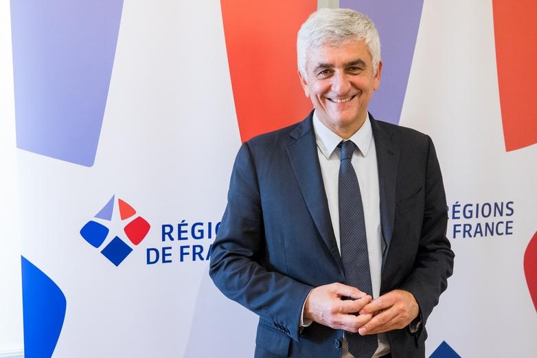 Hervé Morin, président de l'association des Régions de France