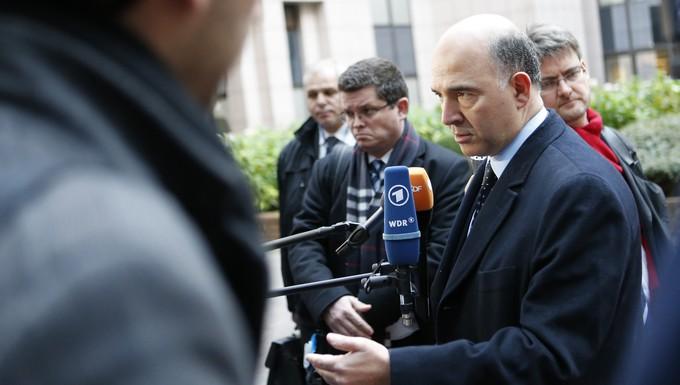 Pierre Moscovici Ministre français de l'économie et des finances