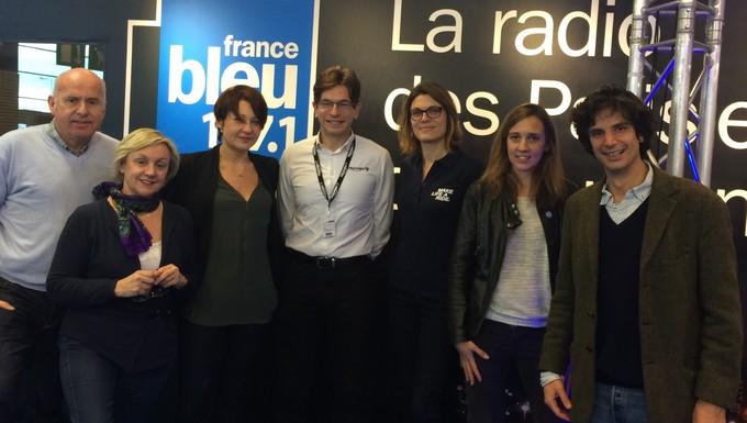 Toute l'Europe sur France Bleu au salon de la moto