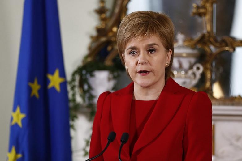 La Première ministre Ecossaise Nicola Sturgeon, en 2016, à l'annonce des résultats du référendum sur la sortie du Royaume-Uni de l'UE - Crédits : Scottish Government / Flickr CC BY-NC 2.0